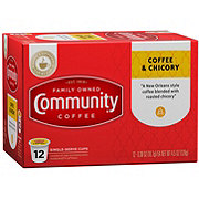 Community Coffee Coffee and Chicory Single Serve Coffee K Cups