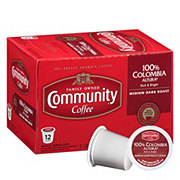 Community Coffee Colombia Altura Medium-Dark Roast Single Serve Coffee K Cups