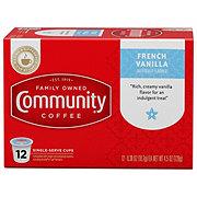 Community Coffee French Vanilla Medium-Dark Roast Single Serve Coffee K Cups