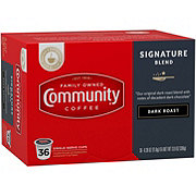 Community Coffee Signature Blend Dark Roast Single Serve Coffee K Cups