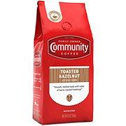 Community Coffee Toasted Hazelnut Medium-Dark Roast Ground Coffee