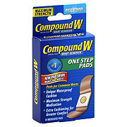 Compound W Maximum Strength One Step Pads Wart Remover