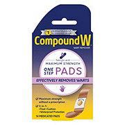 Compound W Maximum Strength Pads