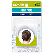 Conair Black Invisible Edge Hair Nets