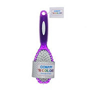 Conair Cushion Brush, Assorted Colors