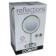 Conair Lighted Mirror Chrome Double Sided