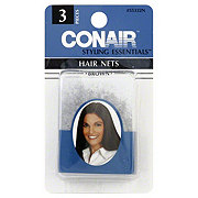 Conair Styling Essentials Brown Hair Nets