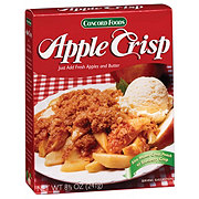 Concord Foods Apple Crisp Mix
