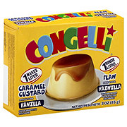 Congelli Caramel Custard Vanilla Flan