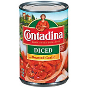 Contadina Diced Roma Style Tomatoes with Roasted Garlic
