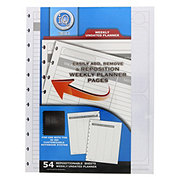 Continental Accessory iQ 360 Undated Planner Filler Paper, Large