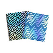 Continental Accessory Keep Calm & Glitter Notebook, Colors & Patterns May Vary