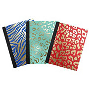 Continental Accessory Wild Side Composition Book, Colors & Patterns May Vary