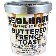 CoolHaus Buttered French Toast Awesome Ice Cream