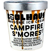 CoolHaus Campfire S'mores Awesome Ice Cream