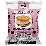 CoolHaus Snickerdoodle Cookie with Strawberry Ice Cream Sammie
