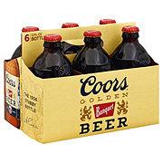Coors Banquet Beer 6 PK Bottles