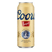 Coors Banquet Beer Can