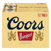 Coors Banquet Cans