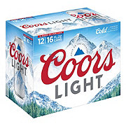 Coors Light Beer 16 oz Cans