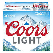 Coors Light Beer 30 PK Cans