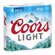 Coors Light Beer Cans 24 oz