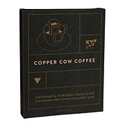 Copper Cow Coffee Portable Pour Over Vietnamese Coffee