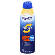 Coppertone Sport Broad Spectrum Continuous Sunscreen Spray SPF 70
