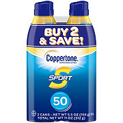 Coppertone Sport SPF 50 Twin Pack