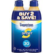 Coppertone Sport Sunscreen Spray SPF 30 Twin Pack