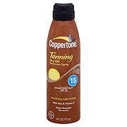 Coppertone Tanning Dry Oil Sunscreen Spray SPF 15