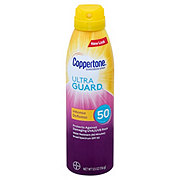 Coppertone ULTRA GUARD Intense Defense SPF 50 Sunscreen Spray