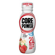 Core Power High Protein Strawberry Banana Light Milk Shake 12 PK