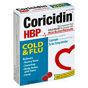 Coricidin HBP Cold & Flu Tablets