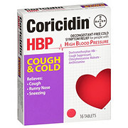 Coricidin HBP Cough And Cold Tablets