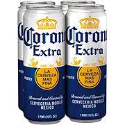 Corona Extra Beer 16 oz Cans ‑ Shop Beer at H‑E‑B