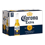 Corona Extra Beer 18 PK Longneck Bottles