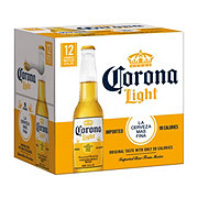 Corona Light Beer 12 oz Longneck Bottles