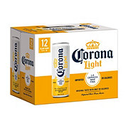 Corona Light Beer 12 oz Tall Cans