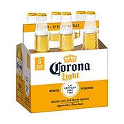 Corona Light Beer 6 PK Longneck Bottles