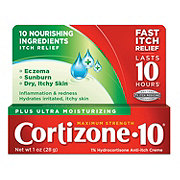 Cortizone 10 Plus Maximum Strength Healing Moisturizers Anti-itch Creme