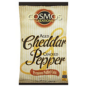 Cosmos Creations Popcorn Aged Cheddar Cracked Pepper