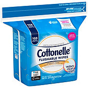 Cottonelle FreshCare Flushable Cleansing Cloths Refill