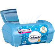 Cottonelle FreshCare Flushable Cleansing Cloths Refillable Tub Assorted Colors