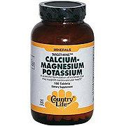 Country Life Calcium-Magnesium Potassium Target Minis Tablets
