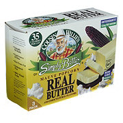 Cousin Willie's Simply Better Real Butter Microwavable Popcorn
