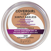 CoverGirl And Olay Simply Ageless Creamy Natural 220 Foundation