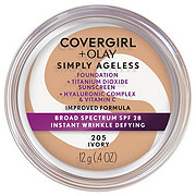 CoverGirl And Olay Simply Ageless Ivory 205 Foundation