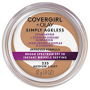 CoverGirl And Olay Simply Ageless Medium Light 235 Foundation