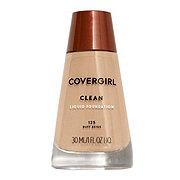CoverGirl Clean Buff Beige 125 Normal Skin Liquid Makeup